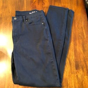 Size 32 Gap high rise skinny jeans